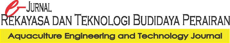 Jurnal Rekayasa dan Teknologi Budidaya Perairan